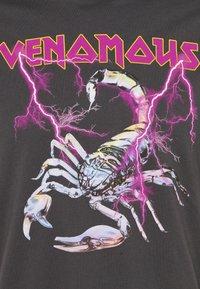 YOURTURN - Print T-shirt - dark grey - 2
