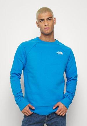 RAGLAN BOX CREW - Sweatshirts - clear lake blue