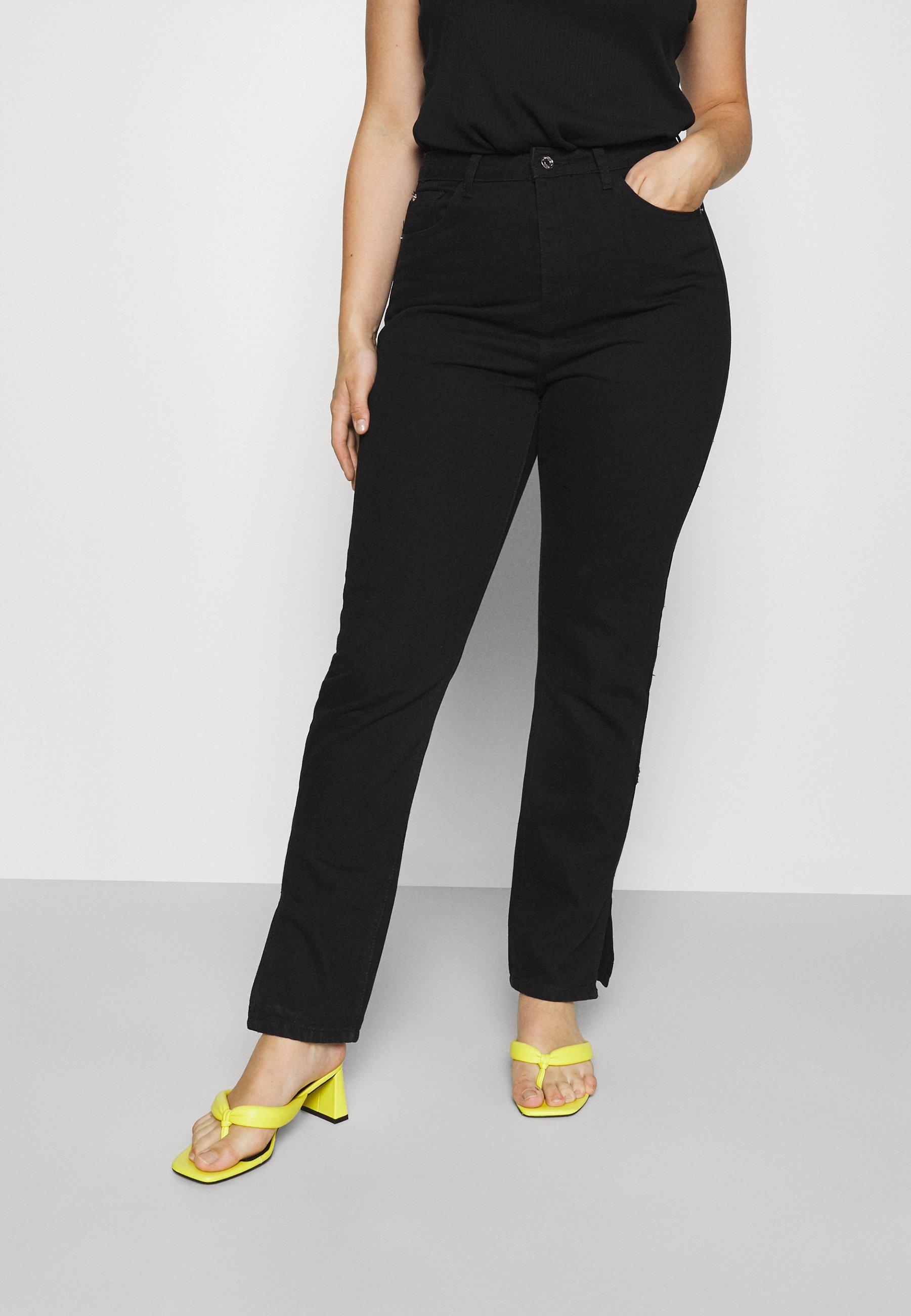 Women WRATH HIGHWAIST SPLIT  - Jeans Tapered Fit