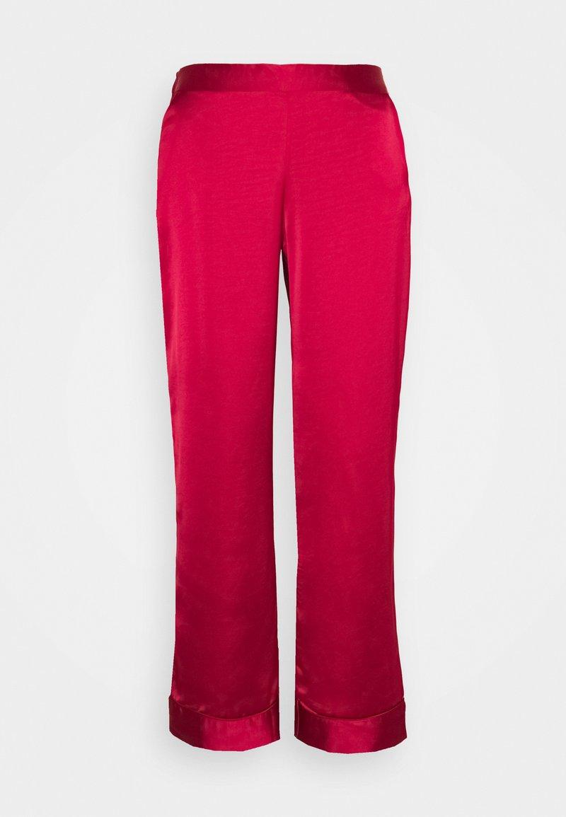 Etam - CATWALK  PANTALON - Pyjama bottoms - rouge