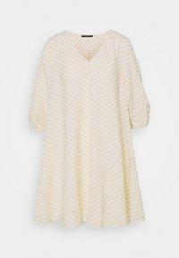 Bruuns Bazaar - SEER ALLURE DRESS - Day dress - sand/white check - 5