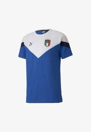 ITALIEN FIGC ICONIC MCS TEE - National team wear - team power blue puma white