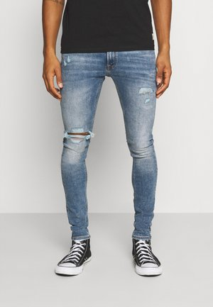JJITOM JJORIGINAL  - Vaqueros pitillo - blue denim