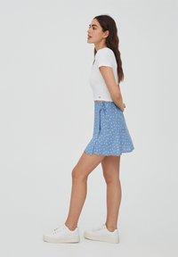 PULL&BEAR - A-line skirt - dark grey - 3