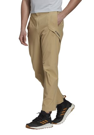 TERREX HIKE PANTS - Bukse - beige tone