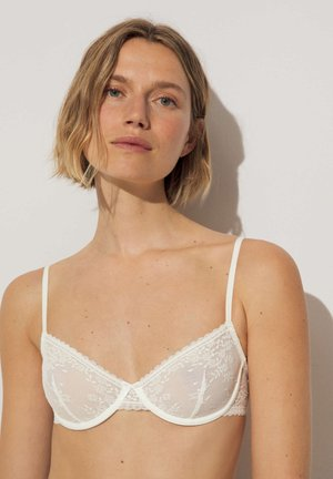 ROMANTISCHER - Underwired bra - white