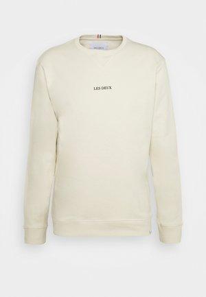 LENS - Sweater - ivory/black