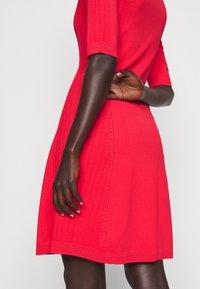 HUGO - SHATHA - Jumper dress - bright red - 5