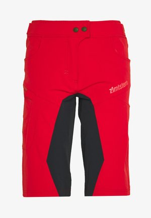 TAILA EVO SHORT - kurze Sporthose - jester red/pirate black