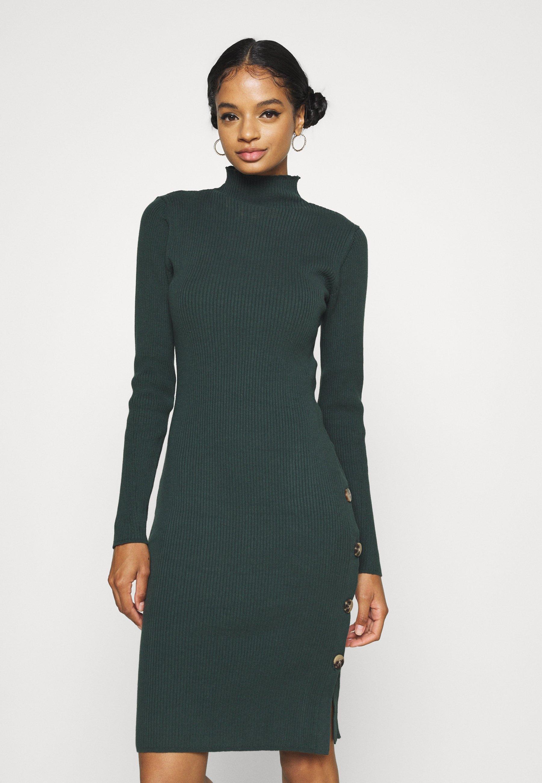 Donna VISOLTO BUTTON DRESS - Tubino