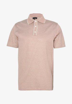 TRIO TRIO EOE - Polo shirt - ivory/amber balsam