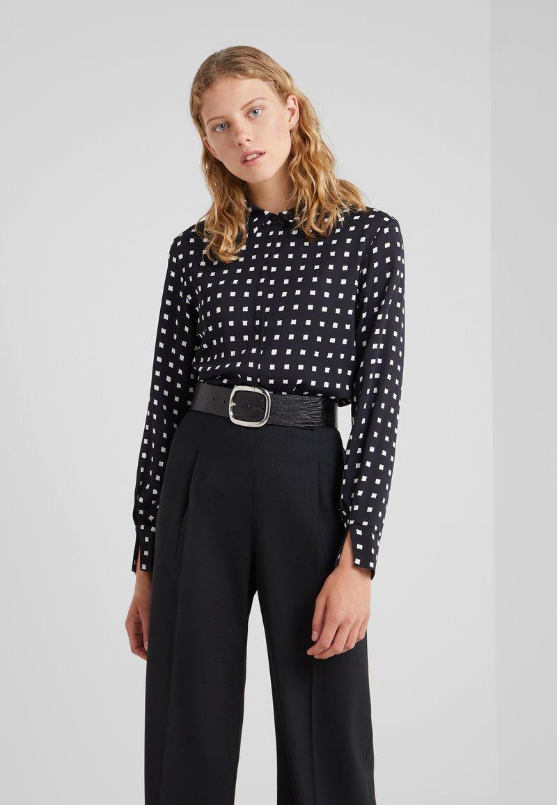 Bruuns Bazaar - BONNE FILIPPA - Button-down blouse - black