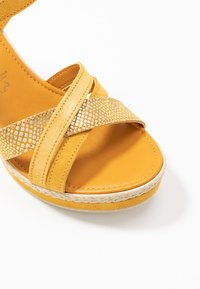 Marco Tozzi - Platform sandals - yellow - 2