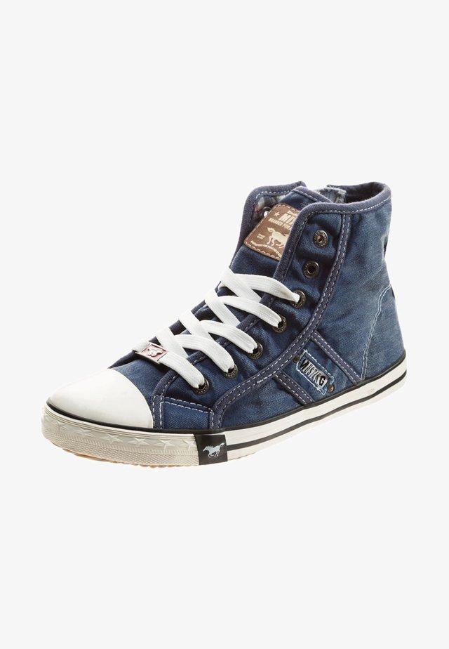 Höga sneakers - dark blue