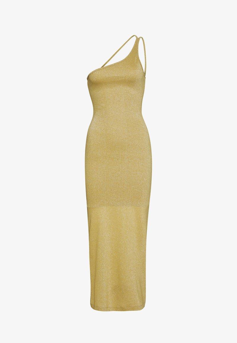 Third Form - SHIMMER ONE SHOULDER MAXI - Společenské šaty - citrus