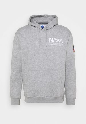 NASA HOOD - Sweatshirt - grey marl