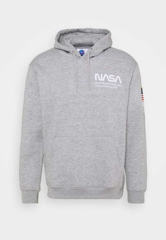 NASA HOOD - Felpa - grey marl