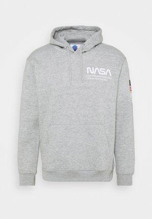 NASA HOOD - Sweatshirt - grey marl