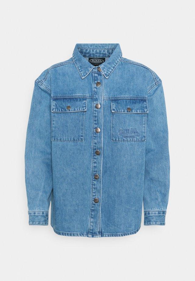 SHAY - Denim jacket - blue denim