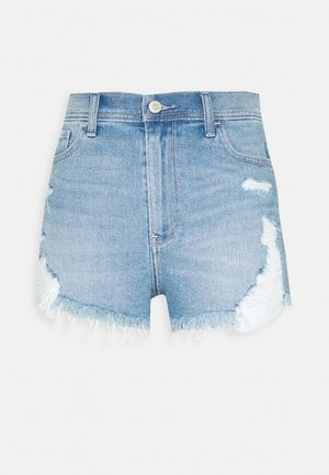 Jeans Shorts - light-blue denim