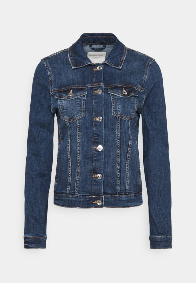 EASY JACKET - Veste en jean - used mid stone blue denim