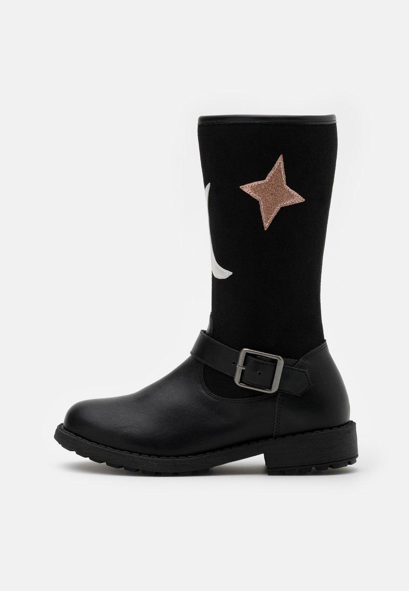 Friboo - Vysoká obuv - black