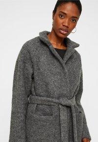 Noisy May - NMZOE  WOOLEN COAT - Classic coat - dark grey - 3