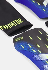 adidas Performance - UNISEX - Shin pads - black/white/schock yellow - 1