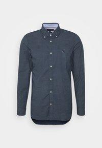 Tommy Hilfiger - SLIM MICRO PRINT - Shirt - blue - 0