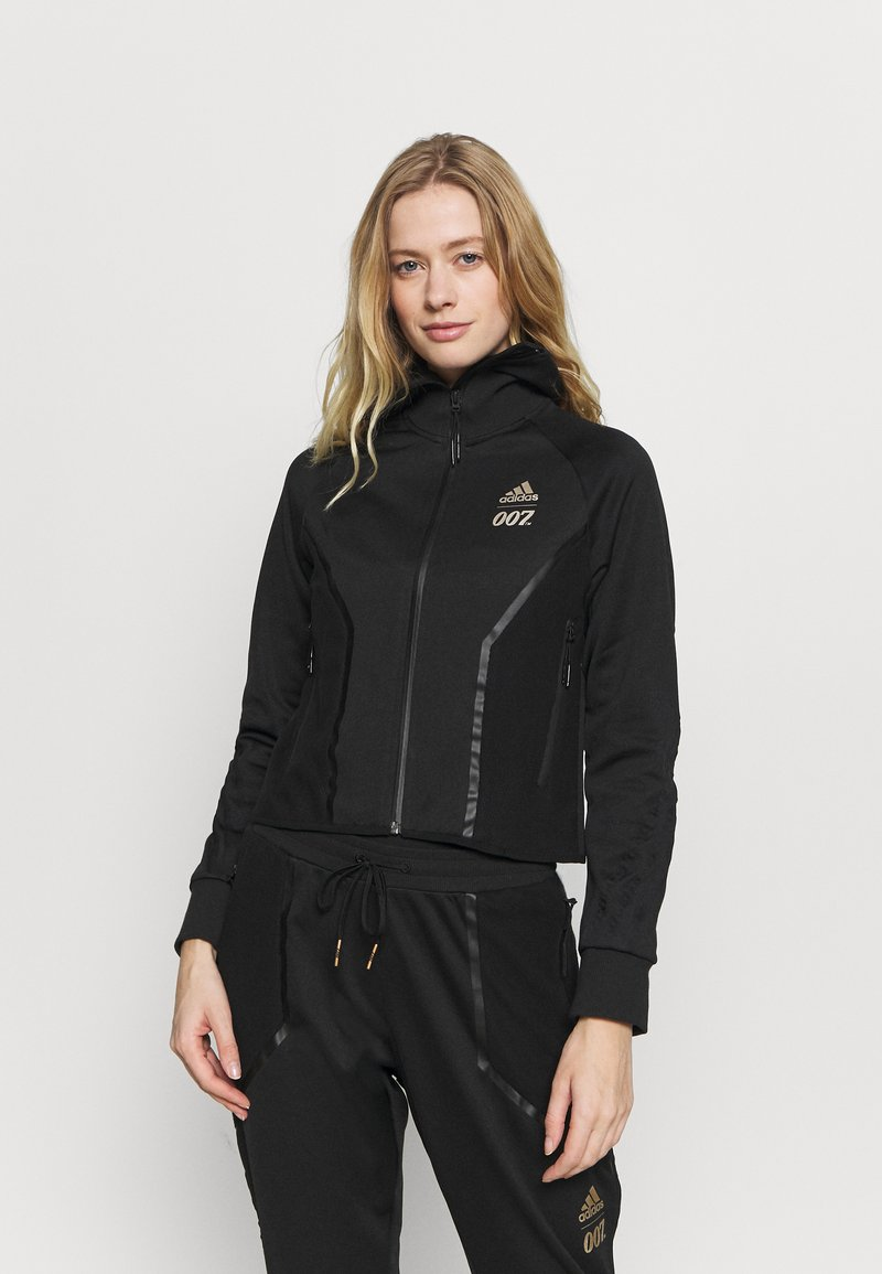 adidas Performance - SPORTS TRACK - Training jacket - black