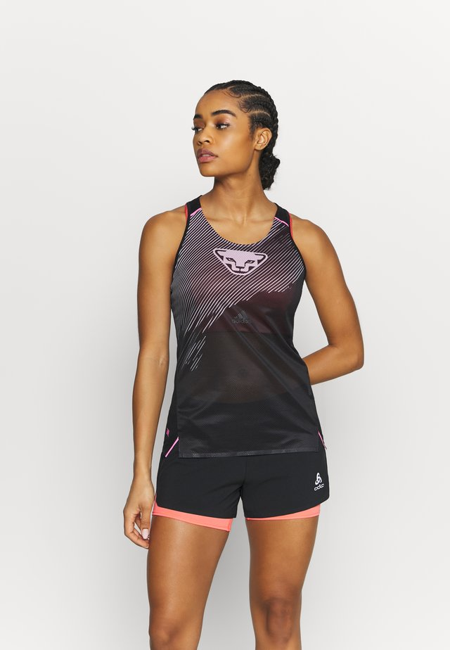 DNA TANK - Top - black out