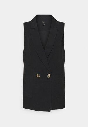 YASPERFA WAISTCOAT ICON - Waistcoat - black