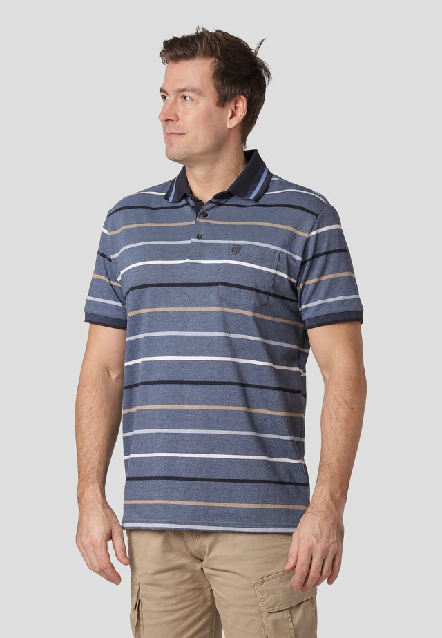 CALDER - Poloskjorter - summer blue