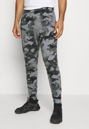 Tracksuit bottoms - black/grey fog