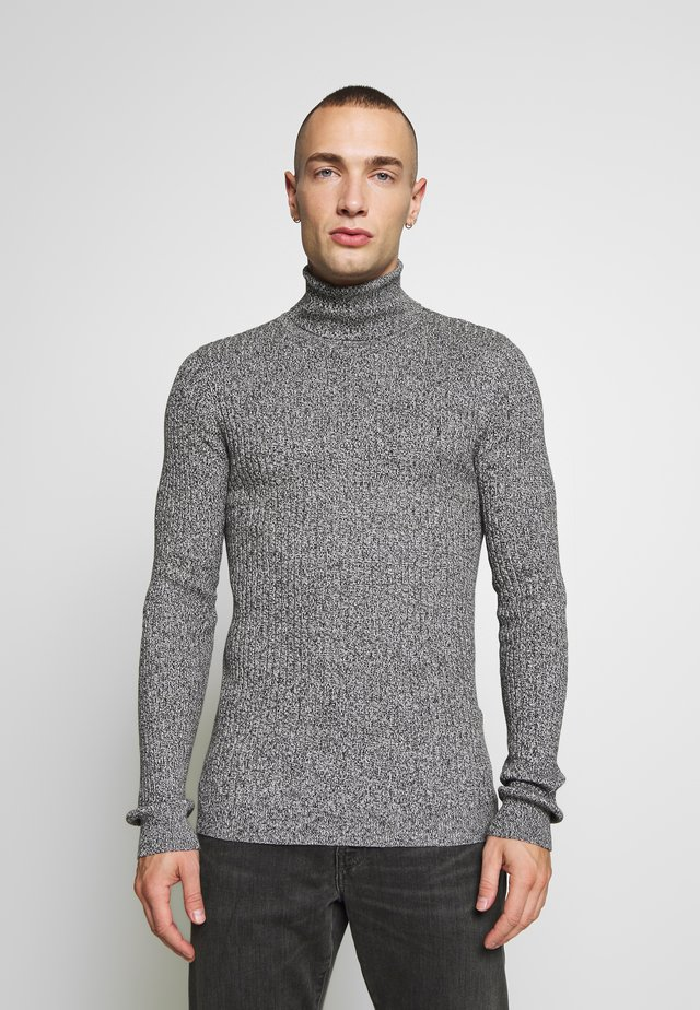 RALLYC - Svetr - charcoal/grey marl twist