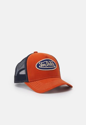 UNISEX - Cap - brown/navy