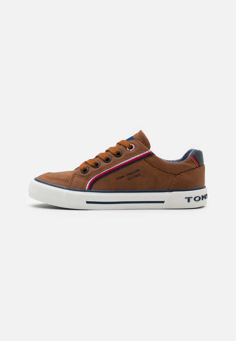 TOM TAILOR - Trainers - cognac