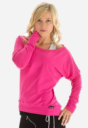 LONGSLEEVE - Collegepaita - pink