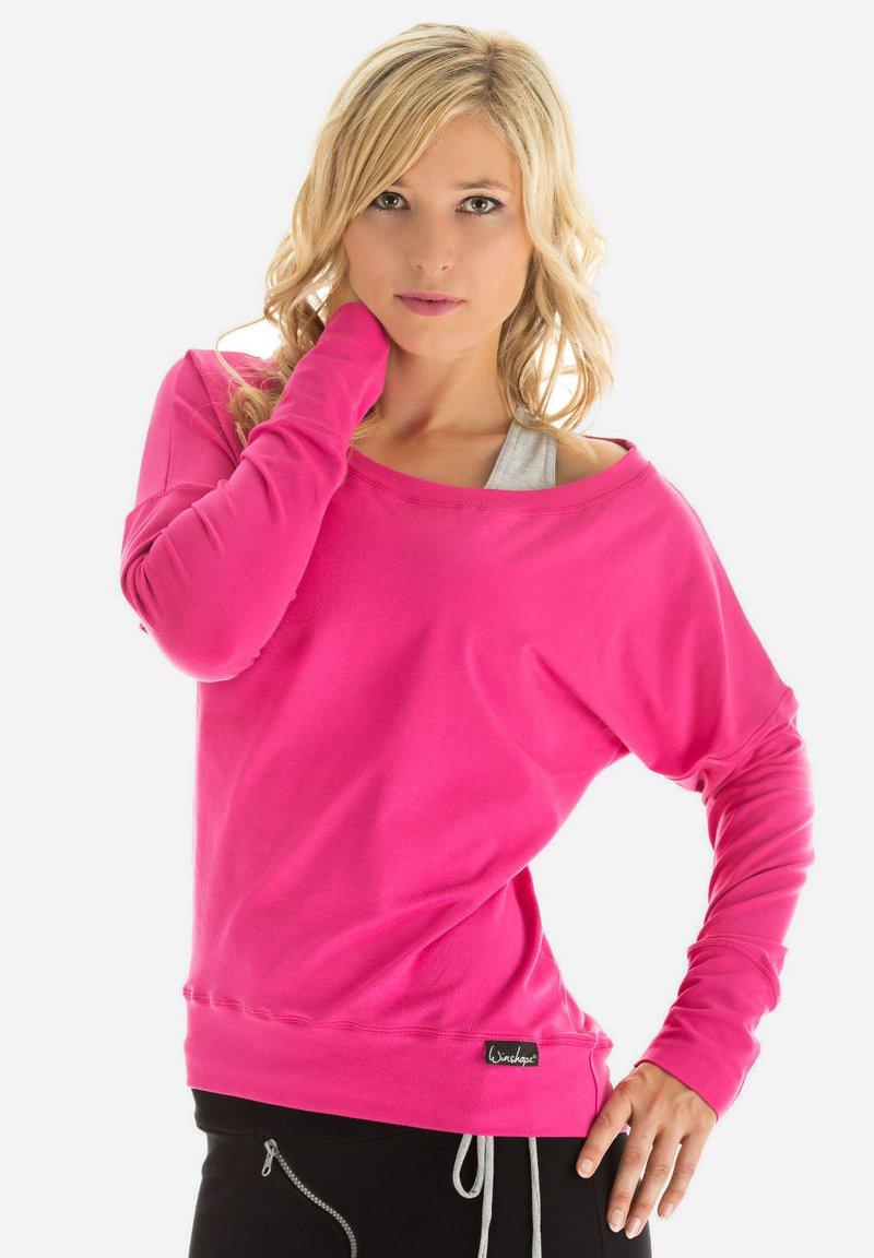 Winshape - LONGSLEEVE - Sweatshirt - pink