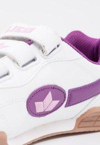 LICO - BERNIE V - Baskets basses - weiß/lila/rosa - 5