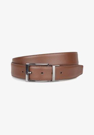 Belt - cinnamon brown