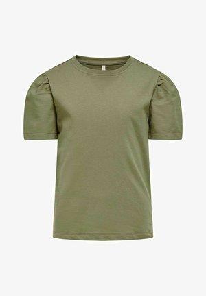 T-shirt basic - dusky green