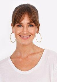 Elli - HOOPS BASIC - Earrings - gold-coloured - 0