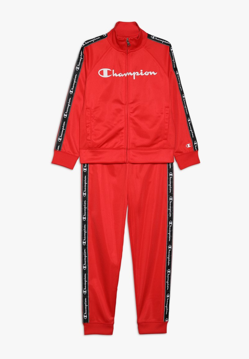 Champion - BACK TO SCHOOL TRACKSUITS FULL ZIP  - Tracksuit - red