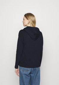 edc by Esprit - HOODY - Long sleeved top - dark blue - 2