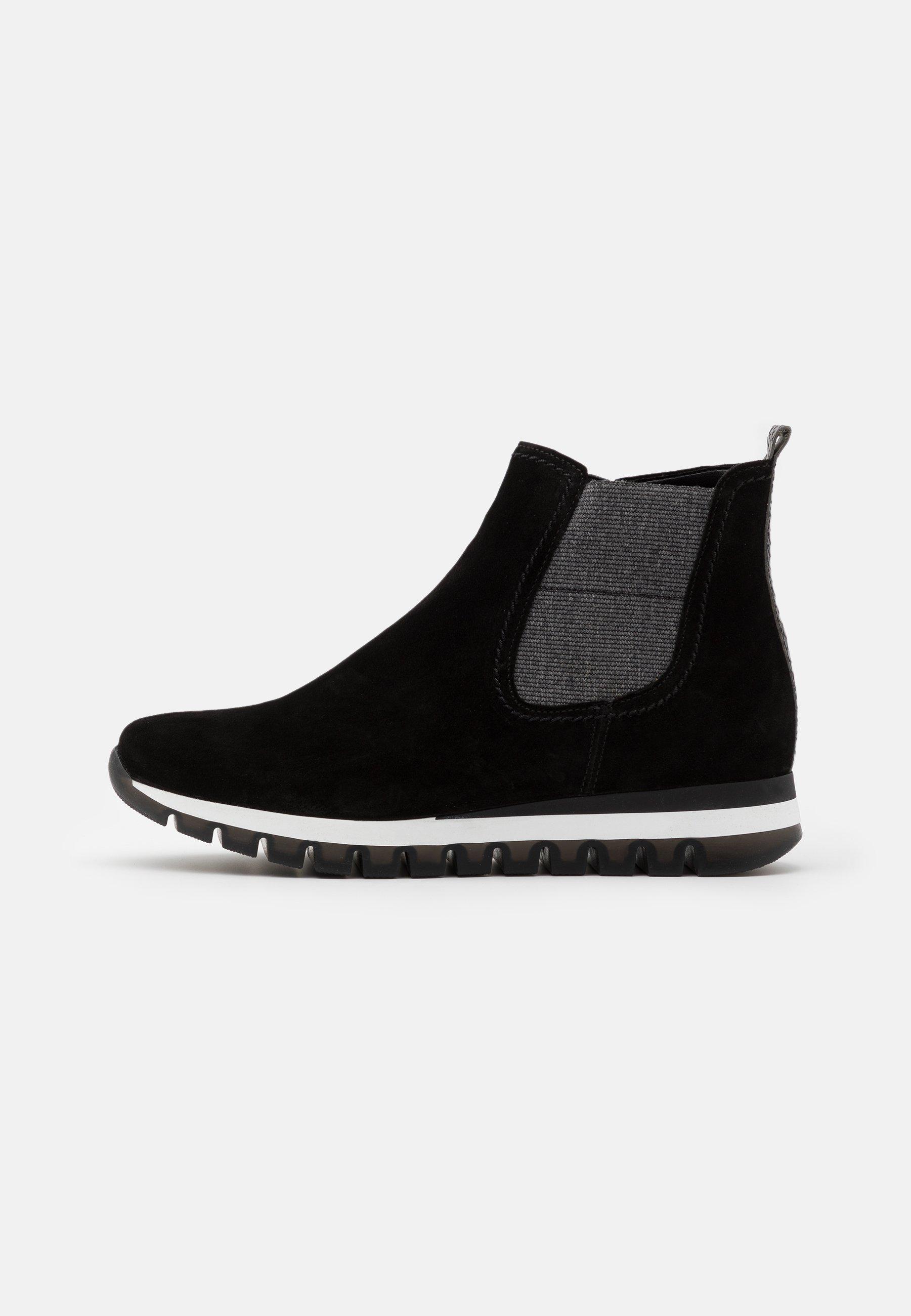 Gabor Comfort Ankle Boot - Dark Opera/rot