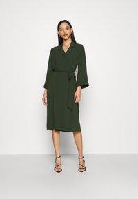 Monki - ANDIE DRESS - Day dress - dark green - 0
