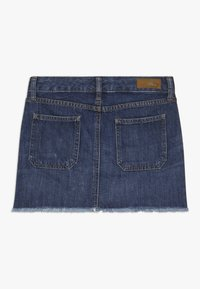 Polo Ralph Lauren - BUTTON SKIRT - Denim skirt - netty wash - 1