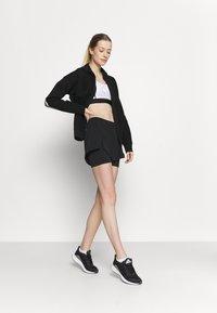 adidas Performance - Pantalón corto de deporte - black/white - 1