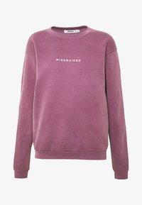 WASHED - Sweatshirt - purple